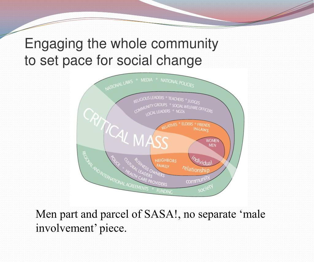 Engaging the whole community