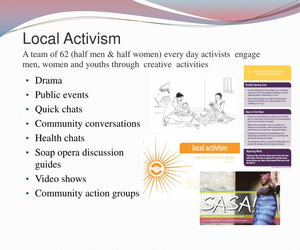 Local Activism