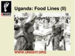 uganda food lines ii