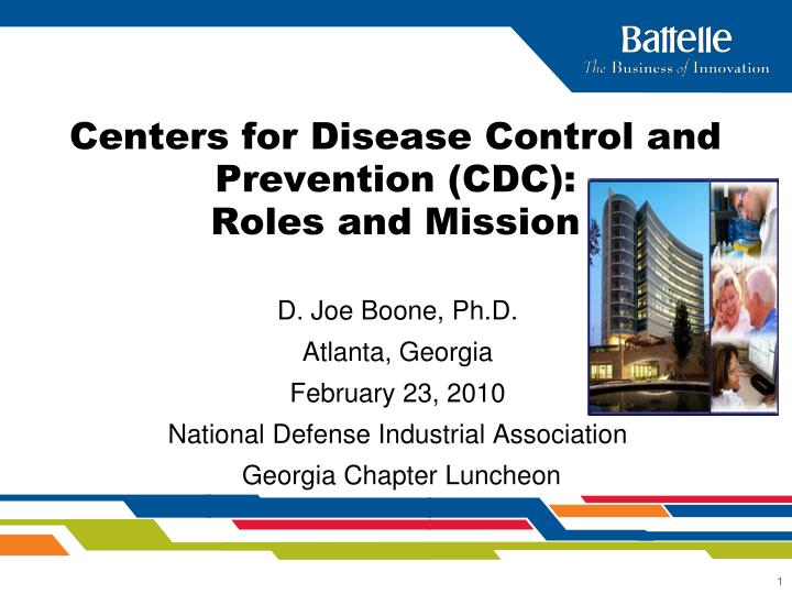 centers for disease control and prevention cdc roles and mission n.