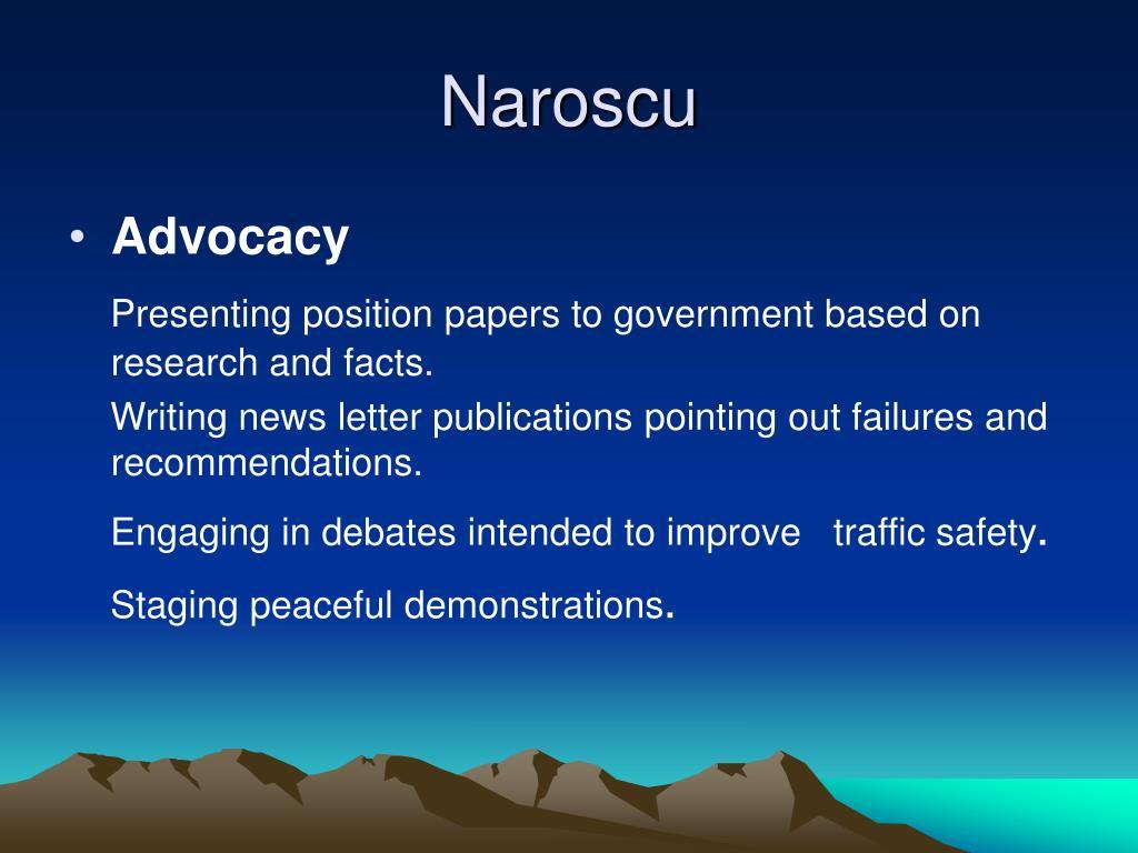 Naroscu