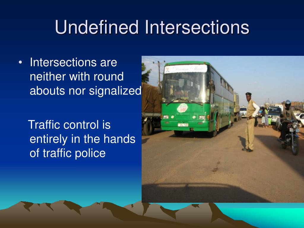 Undefined Intersections