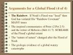 arguments for a global flood 4 of 4