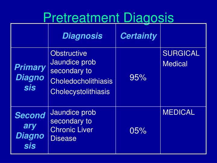 Pretreatment Diagosis