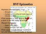 rvf epizootics