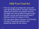 1906 pure food act12