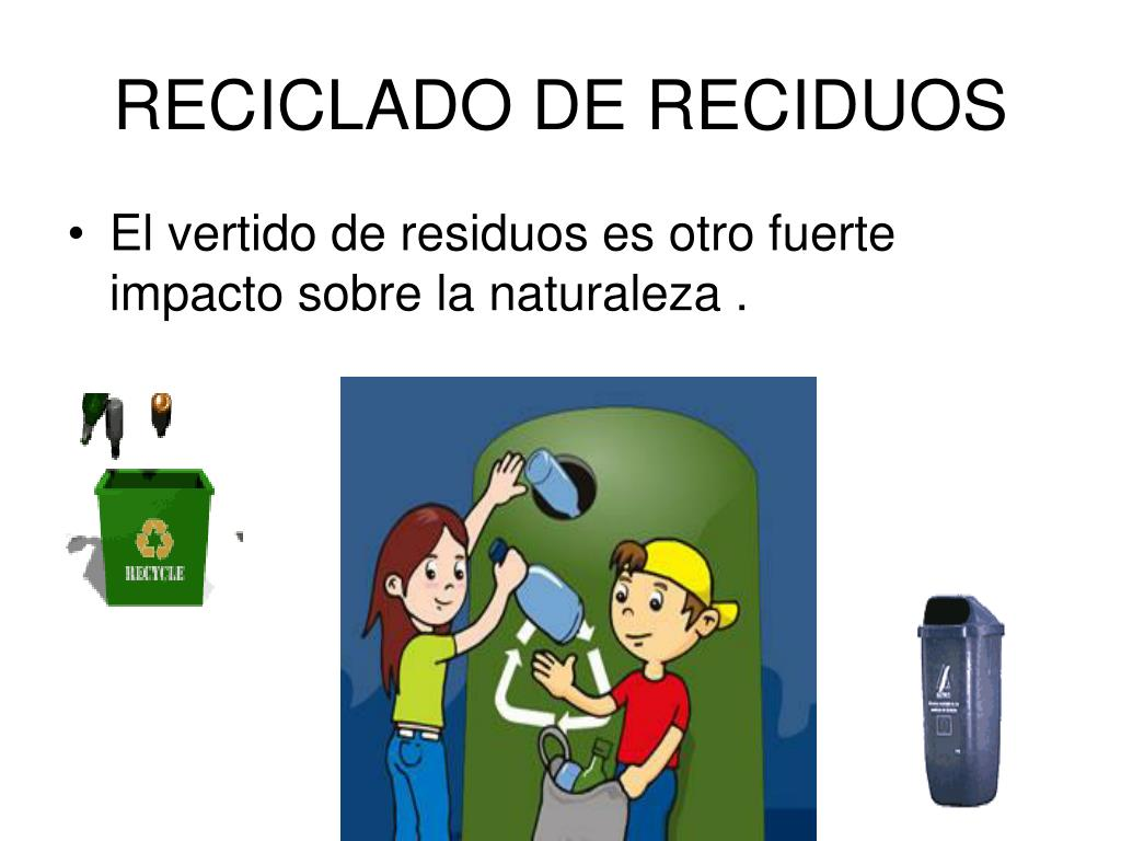 RECICLADO DE RECIDUOS