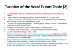 taxation of the wool export trade 2