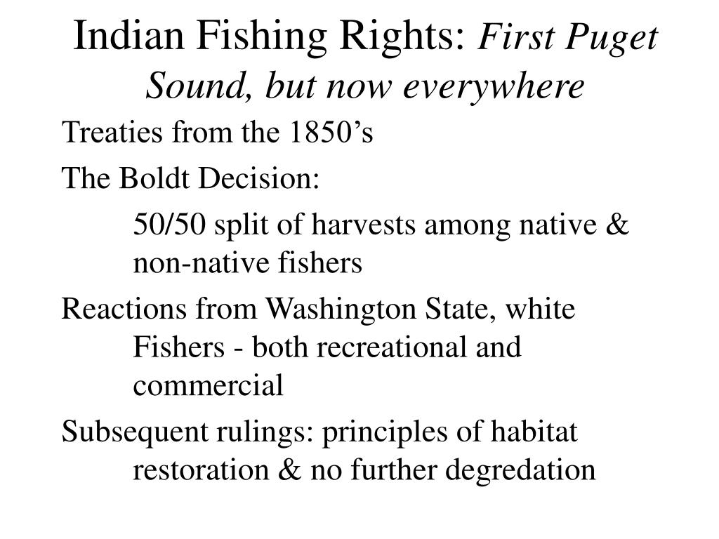 Indian Fishing Rights: