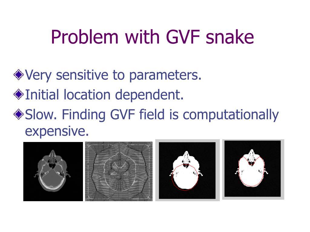 Problem with GVF snake