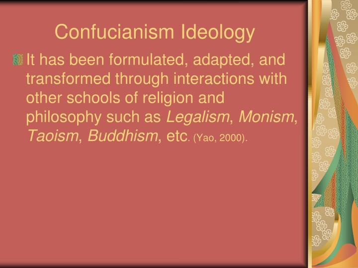 Confucianism Ideology