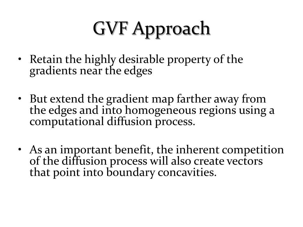 GVF Approach