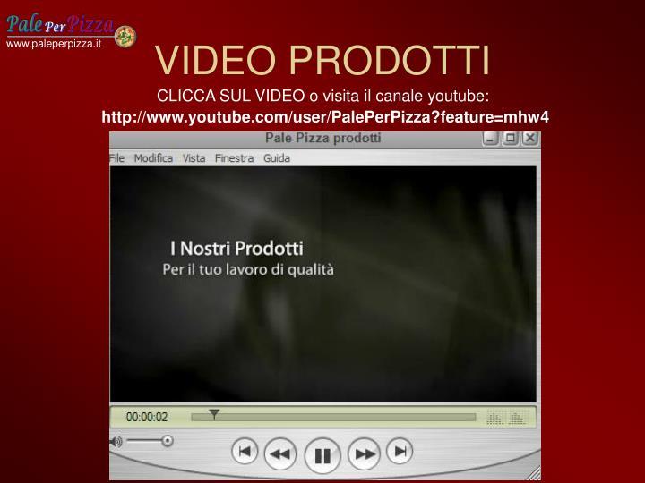Video prodotti
