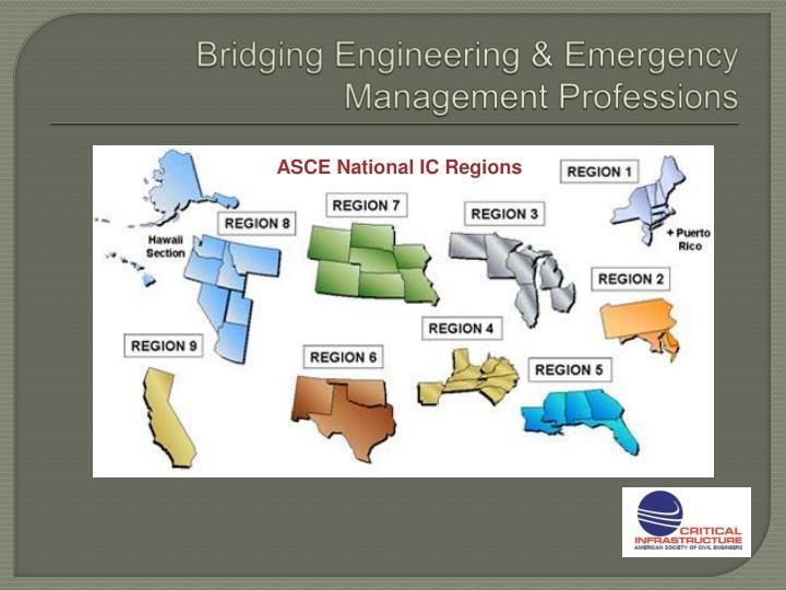 Bridging Engineering & Emergency Management Professions