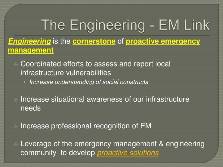 The Engineering - EM Link