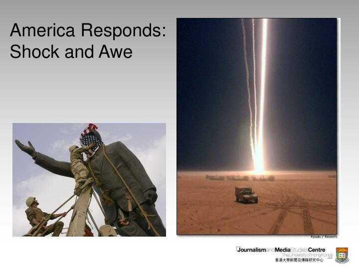 America responds shock and awe3