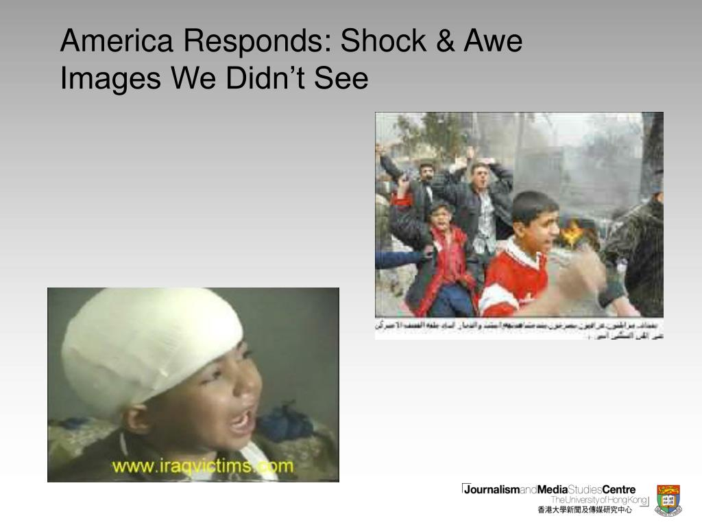 America Responds: Shock & Awe