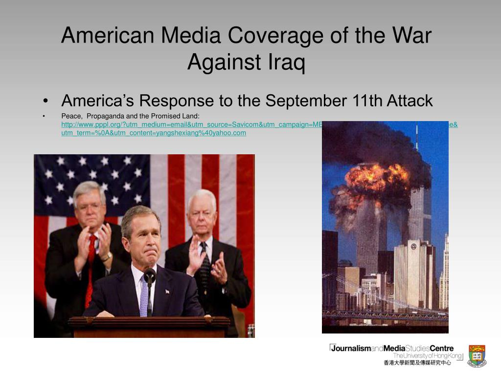 american media coverage of the war against iraq l.