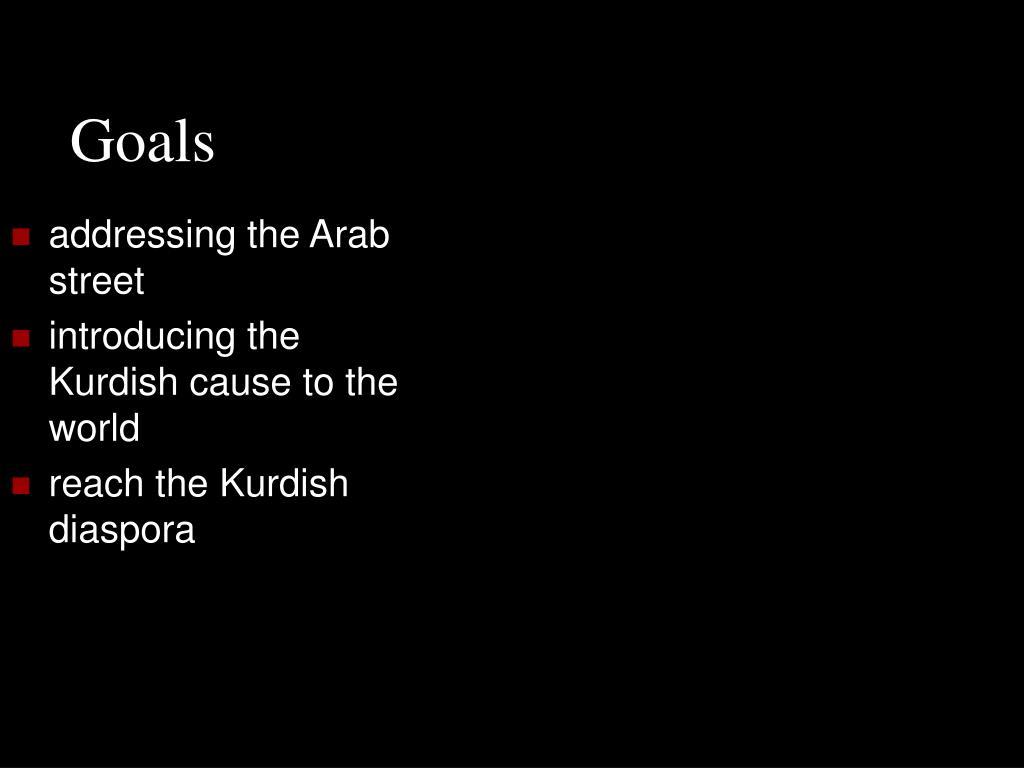 addressing the Arab street