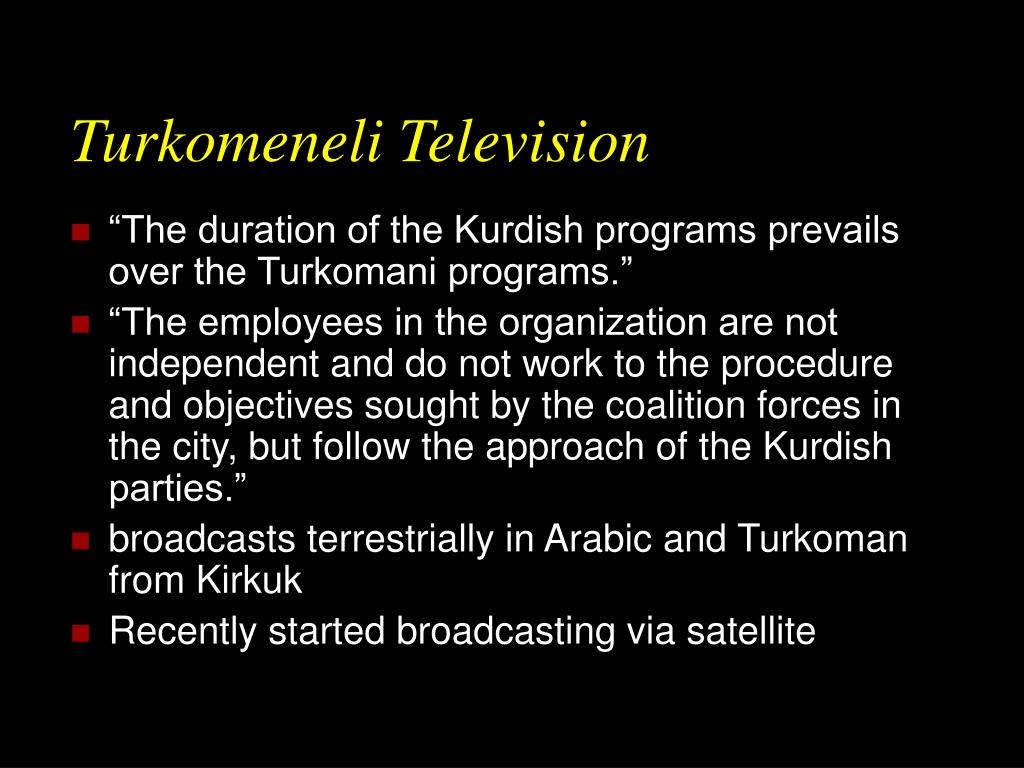 Turkomeneli Television