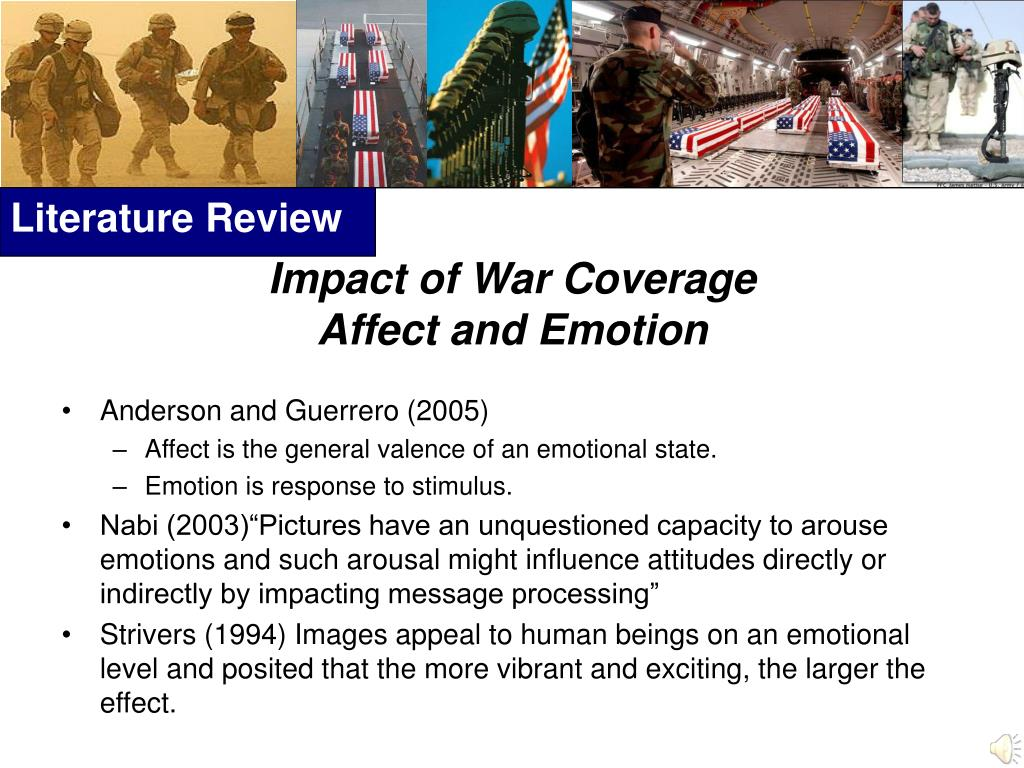 Impact of War Coverage