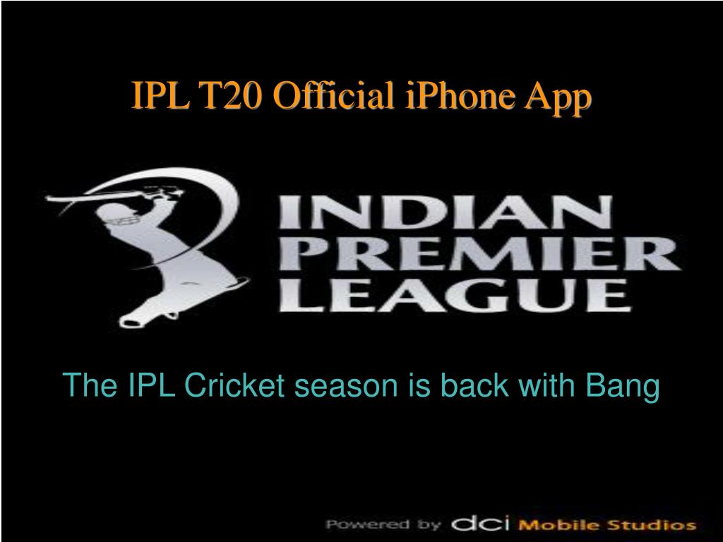 the ipl cricket season is back with bang l.