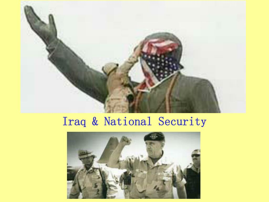 Iraq & National Security