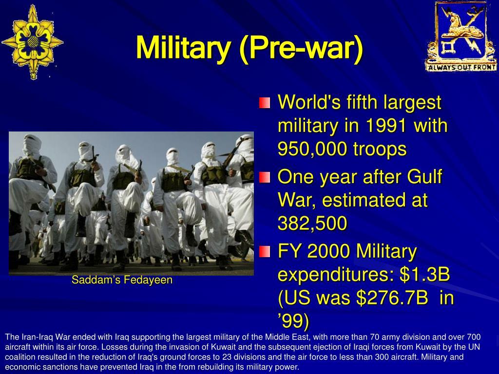 Military (Pre-war)