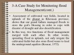 3 a case study for monitoring flood management cont