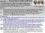 iran poised to strike gulf states