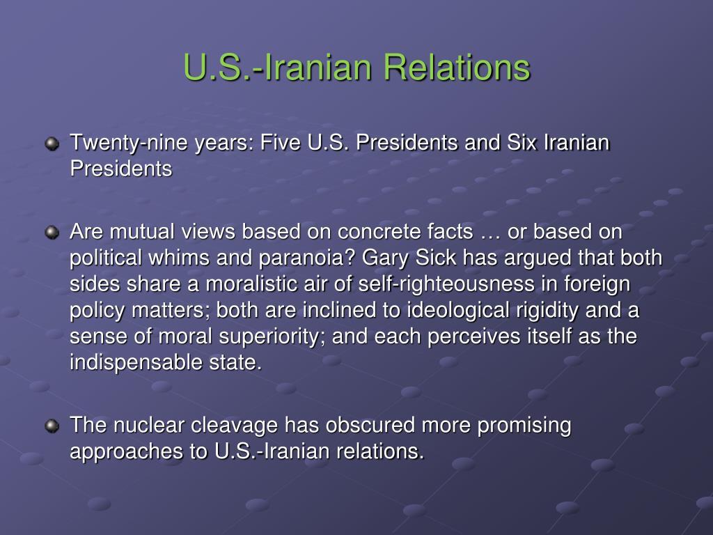 U.S.-Iranian Relations