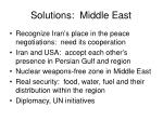 solutions middle east