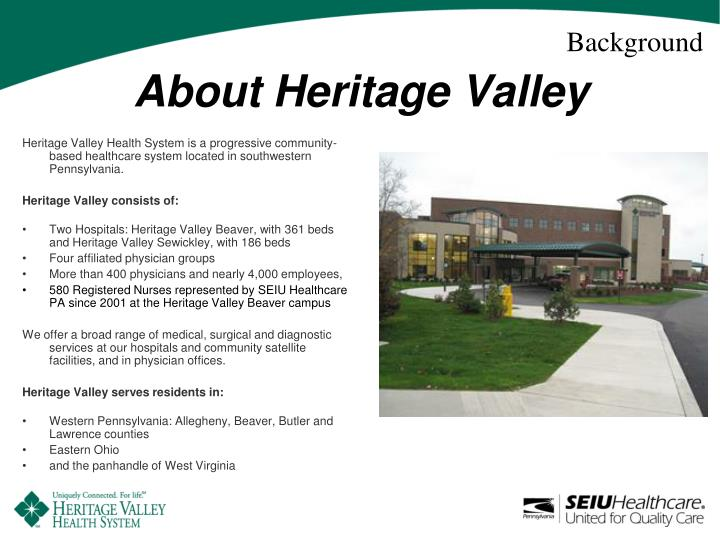 About heritage valley