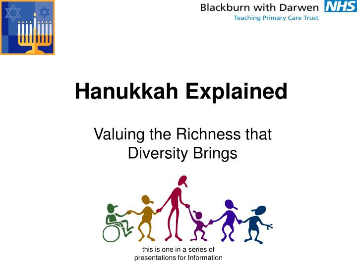Valuing the richness that diversity brings