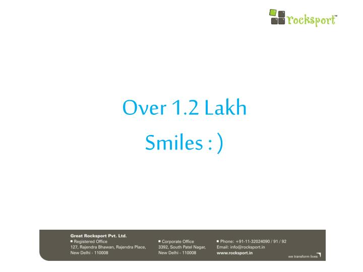 Over 1.2 Lakh