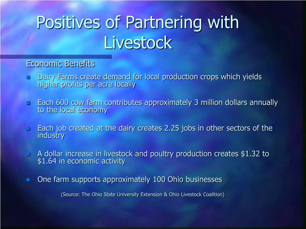 Positives of Partnering with Livestock