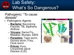 lab safety what s so dangerous