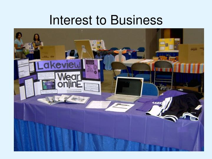 Interest to Business