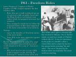 1961 freedom rides