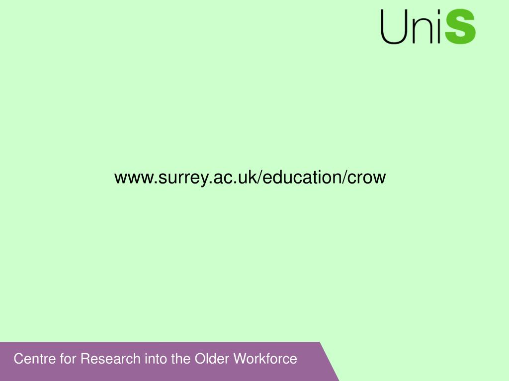 www.surrey.ac.uk/education/crow