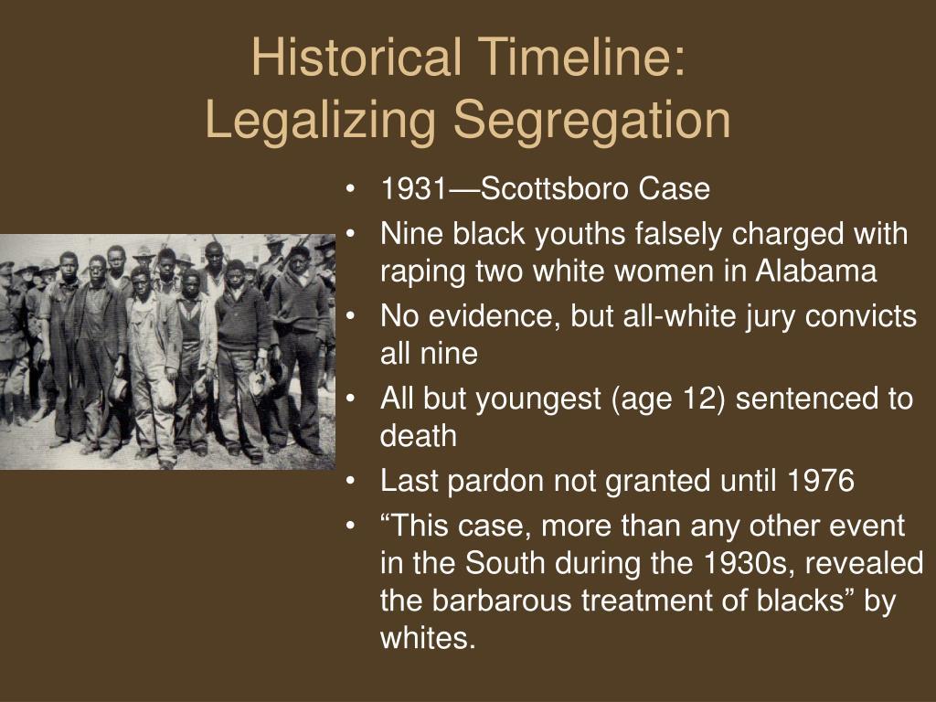 1931—Scottsboro Case