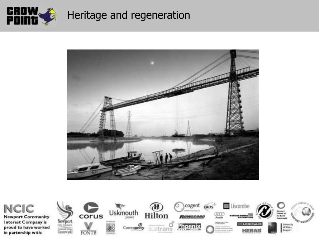 Heritage and regeneration