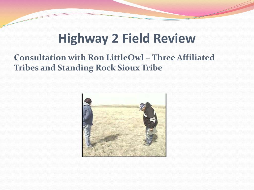 Highway 2 Field Review