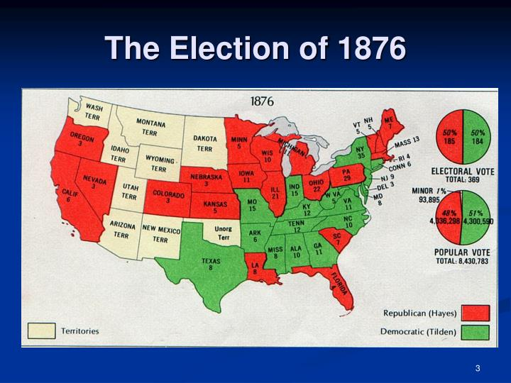 The election of 18763