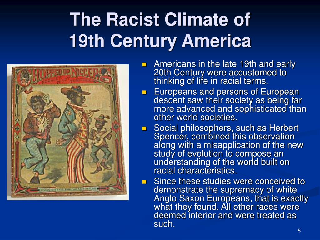 The Racist Climate of