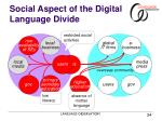 social aspect of the digital language divide