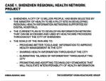 case 1 shenzhen regional health network project