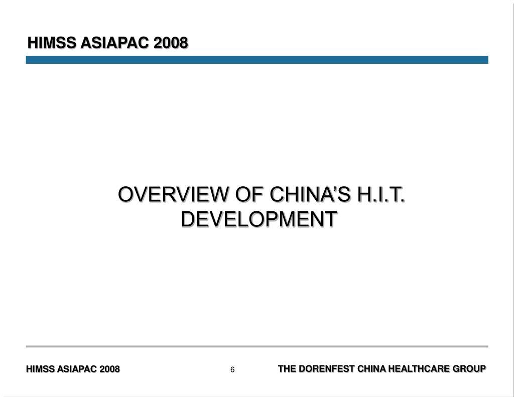 HIMSS ASIAPAC 2008
