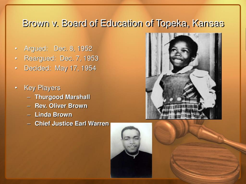 an analysis of brown vs board of education of topeka