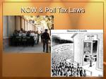 now poll tax laws